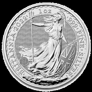 1 oz Silver Britannia