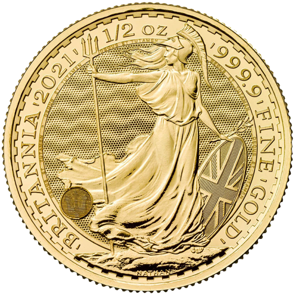 1/2 oz Gold Britannia Coin