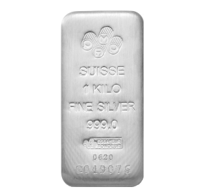 1 Kilo PAMP Silver Bar